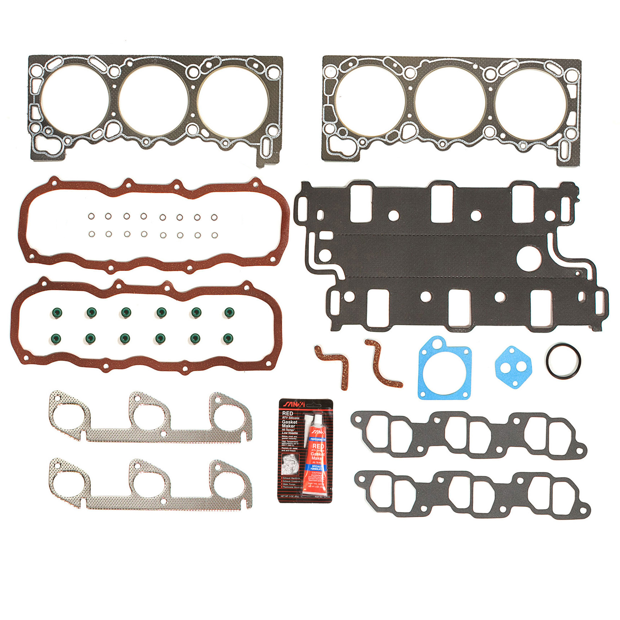 Evergreen TKTCS20700WP Fits 97-10 Ford Explorer Ranger Mazda B4000 Mercury 4.0 245 SOHC Timing Chain Kit Timing Cover Gaskets GMB Water Pump