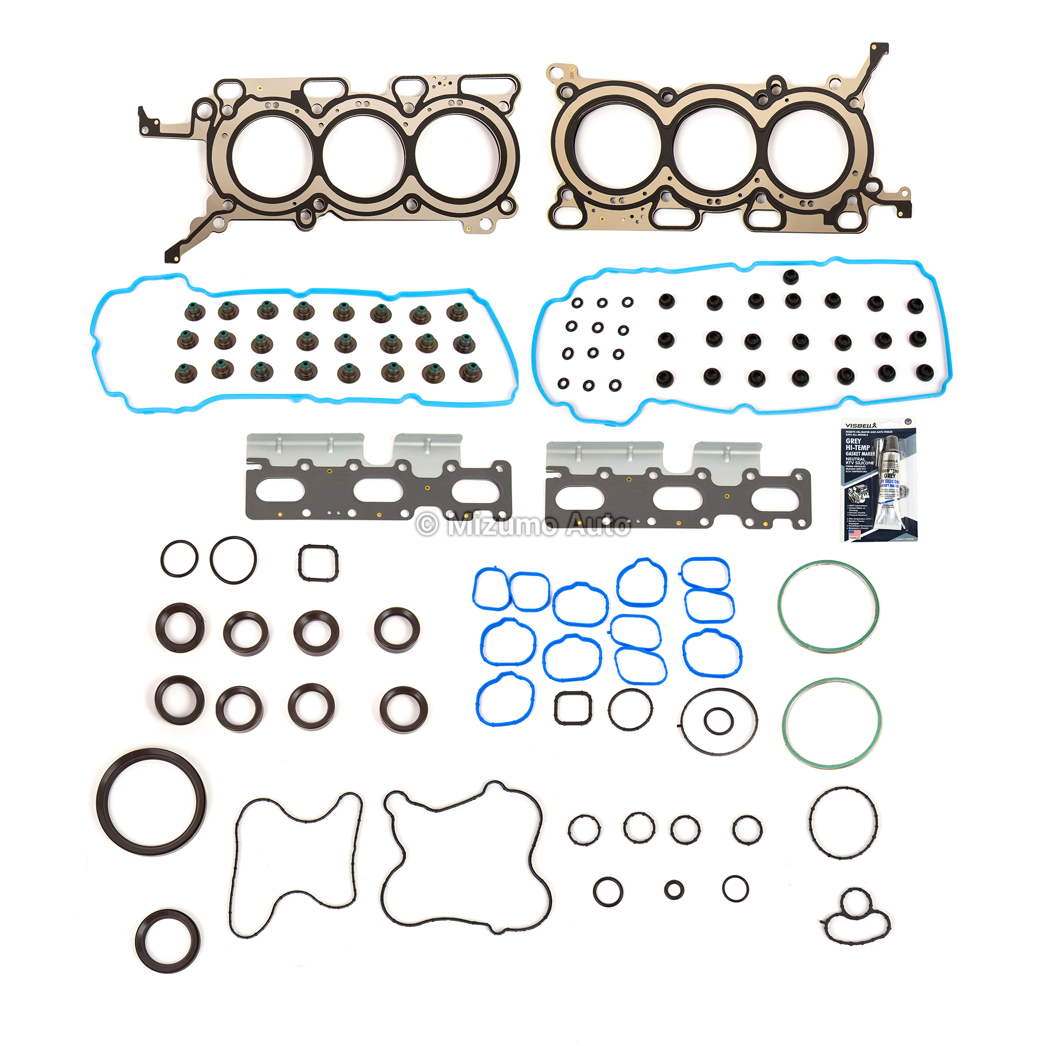 VRS Gasket Set FOR Mazda 1000 Sedan Pickup Coupe F1000 1966-1978 PB 987cc